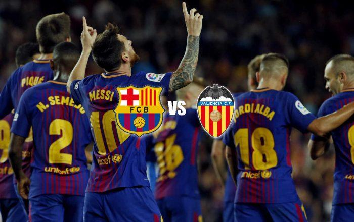 Barcelona VS Valencia soccer bet