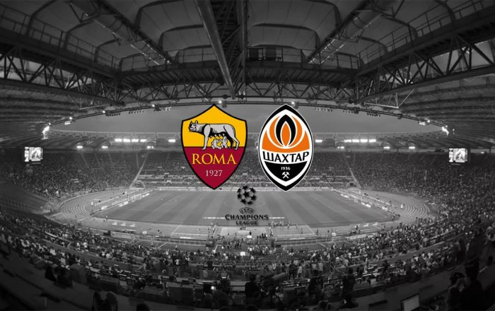 Shakhtar Donetsk - AS Roma Champions League