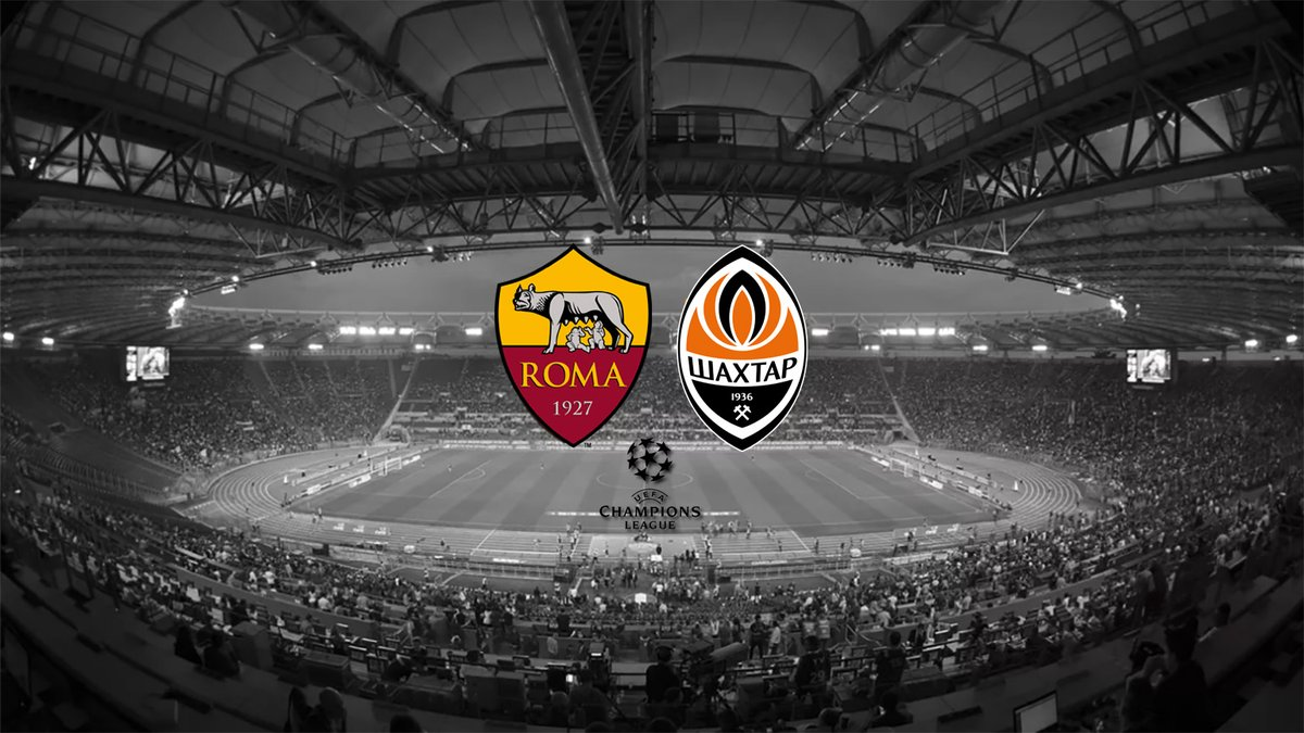 Champions League Shakhtar Donetsk – AS Roma