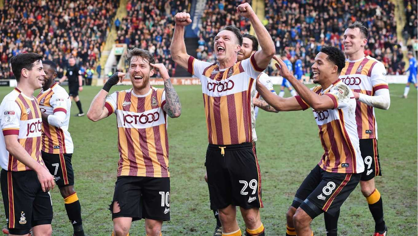 Bradford City vs Gillingham Betting Prediction 24 March 2018