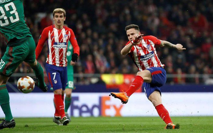 Lokomotiv - Atletico de Madrid Europa League