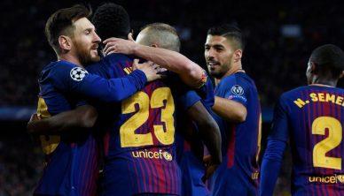 AS Roma - Barcelona Champions League