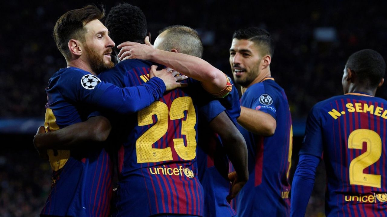 Champions League AS Roma – Barcelona  10 April 2018