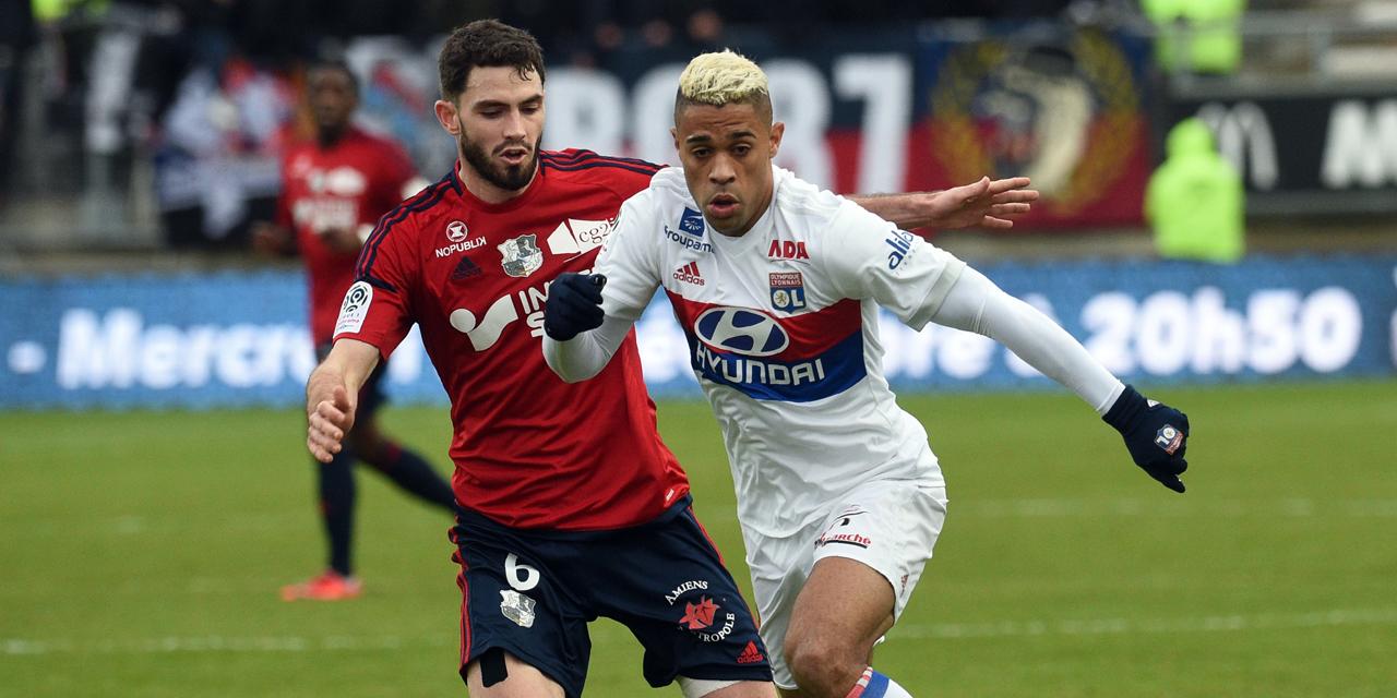 Lyon vs Amiens 14 April 2018
