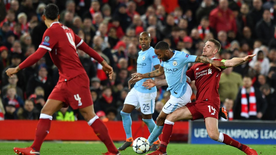 Manchester City - Liverpool Champions League