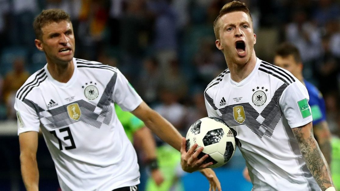 World Cup Prediction South Korea - Germany