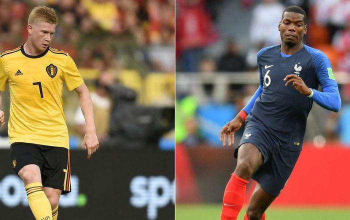 Semi Final World Cup France vs Belgium