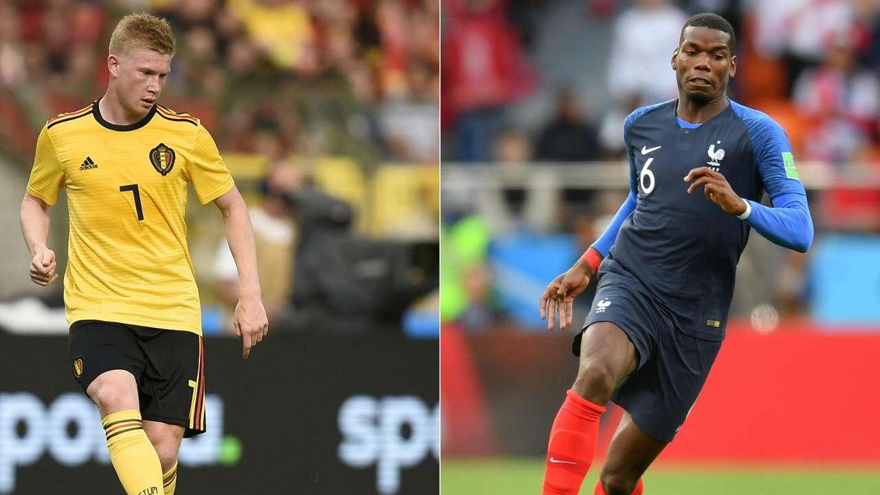 Semi Final World Cup  France vs Belgium 10/07