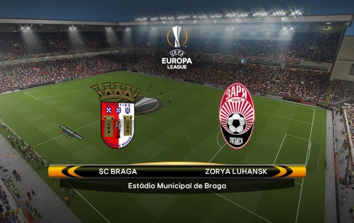 Europa League Braga vs Zorya