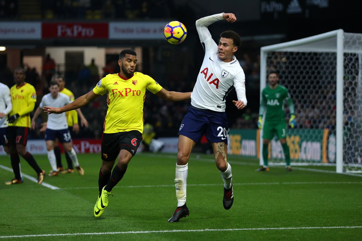 Premier League Watford vs Tottenham 2/09/2018
