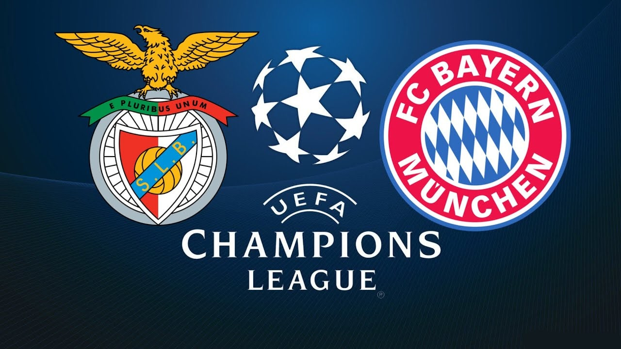 Champions League Benfica vs Bayern 19/09/2018