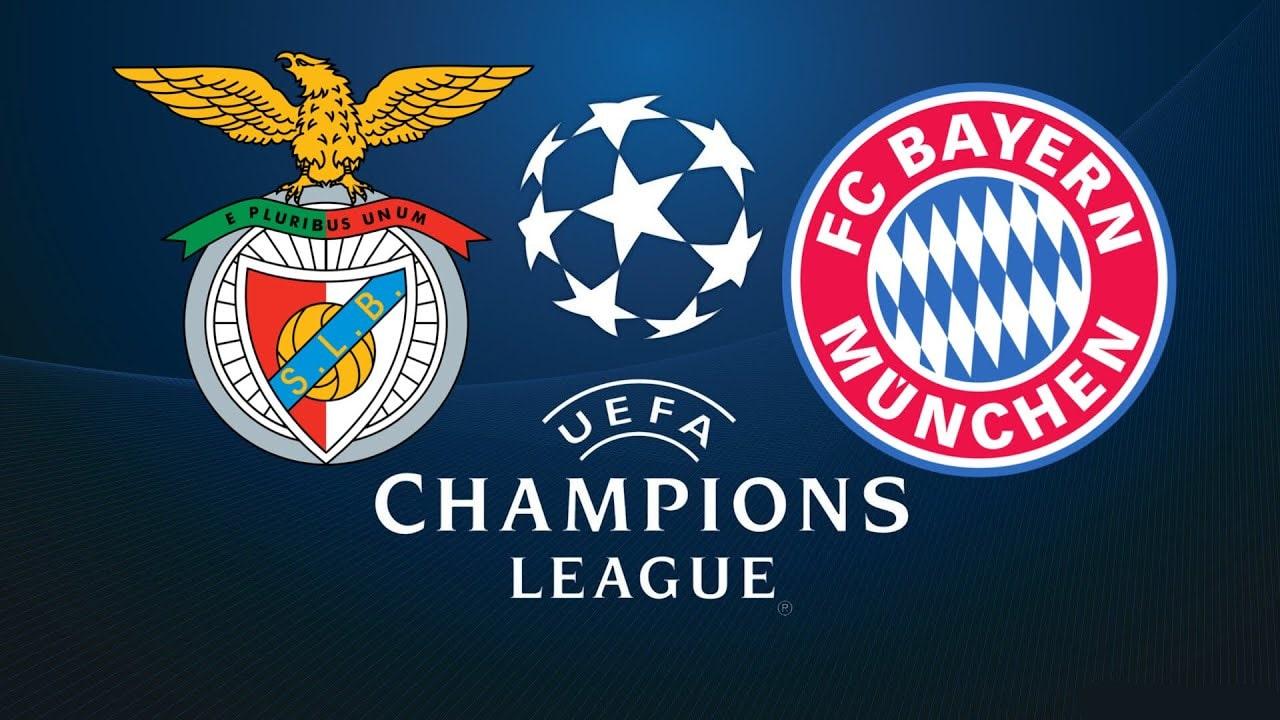 Champions League Benfica Vs Bayern