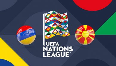 UEFA Nations League Armenia vs Macedonia