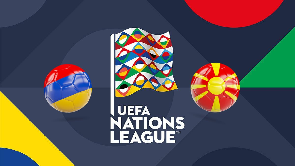 UEFA Nations League Armenia vs Macedonia 16/10/2018
