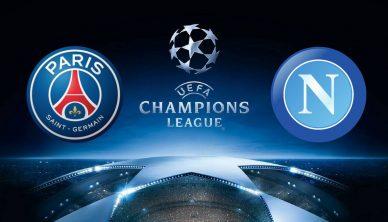 Champions League PSG vs Napoli