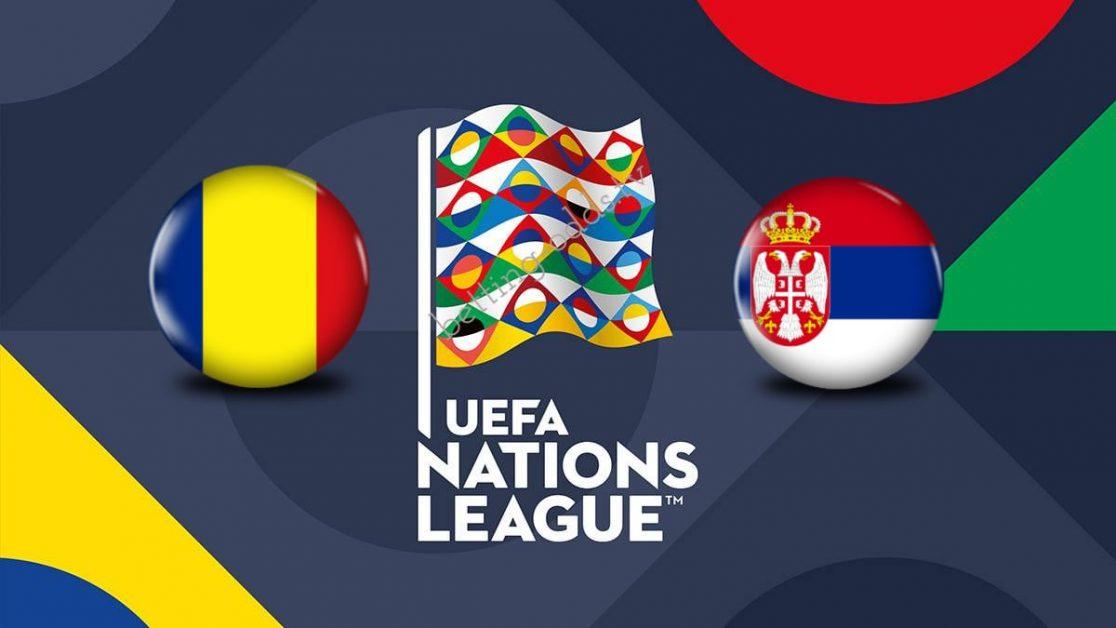 UEFA Nations League Romania vs Serbia