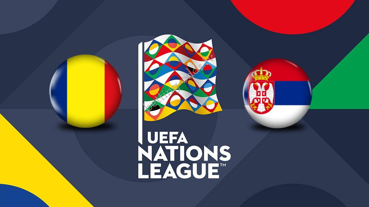 UEFA Nations League Romania vs Serbia 14/10/2018
