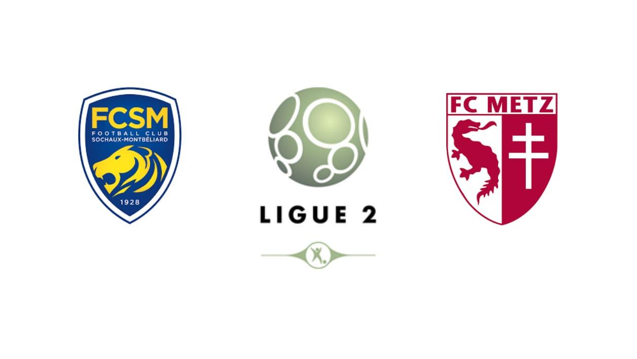 Football Prediction  Sochaux vs Metz 8/10/2018