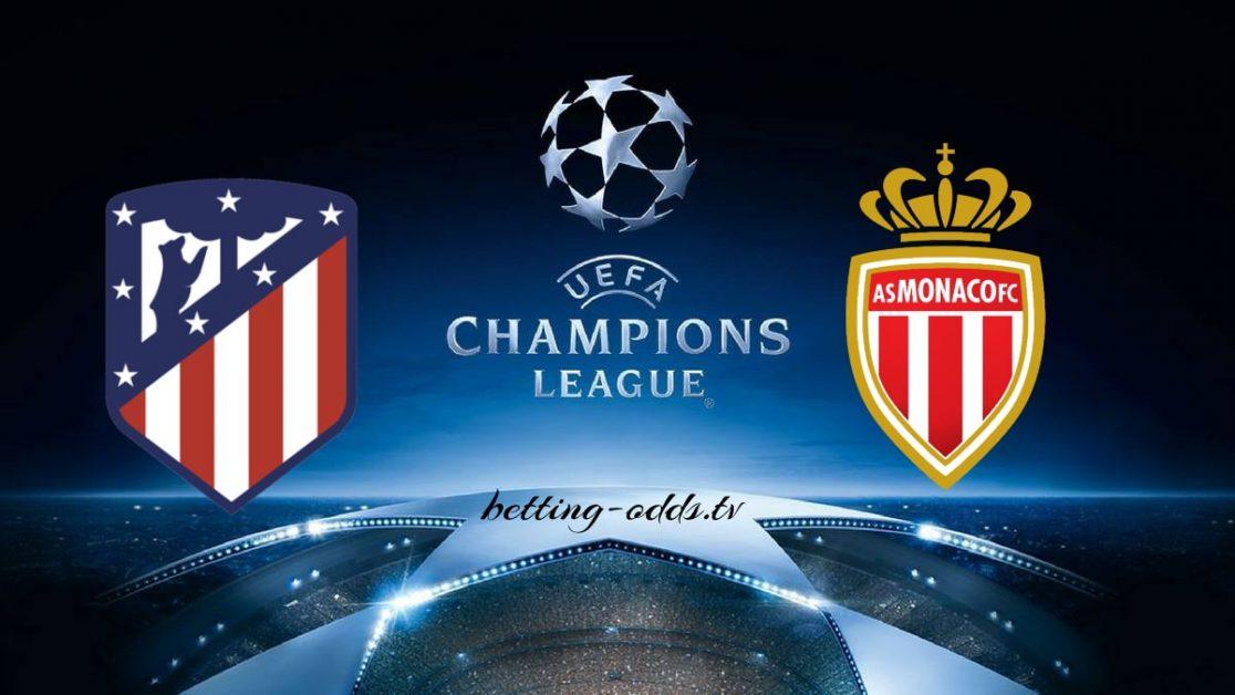 Atletico Madrid vs Monaco Champions League