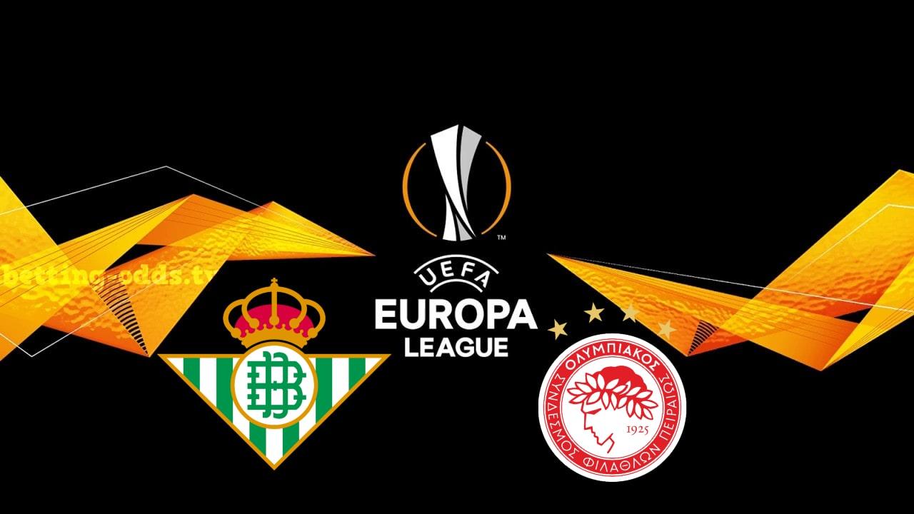 Betis vs Olympiakos Europa League 29/11/2018
