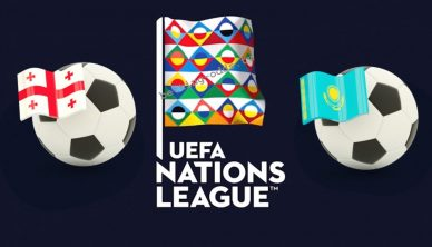 UEFA Nations League Georgia vs Kazakhstan