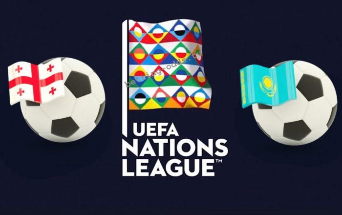 UEFA Nations League Georgia vs Kazakhstan