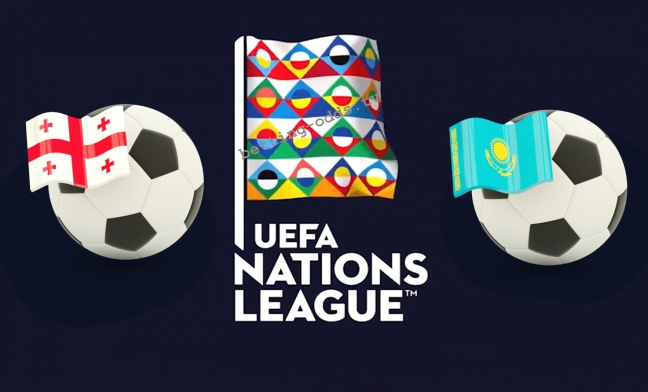Georgia vs Kazakhstan UEFA Nations League 19/11/2018