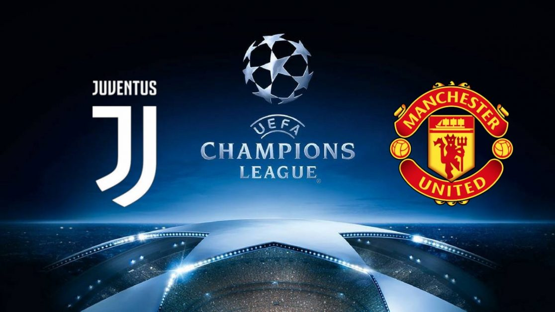 Champions League Juventus vs Manchester United
