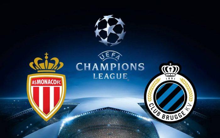 Champions League Monaco vs Club Bruges