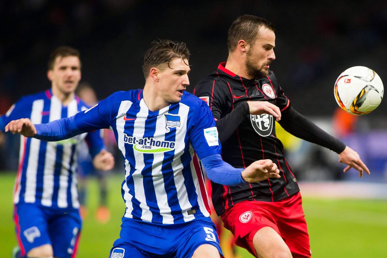 Hertha Berlin vs Eintracht Frankfurt Bundesliga 8/12/2018
