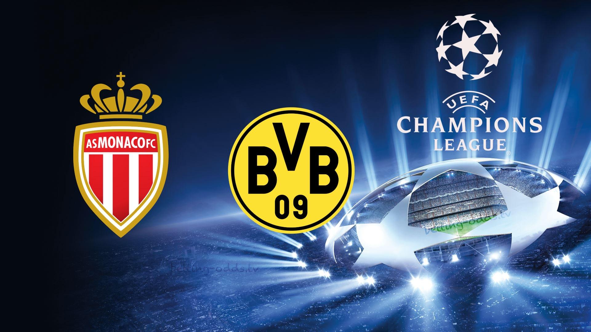 Champions League Monaco vs Borussia Dortmund 11/12/2018