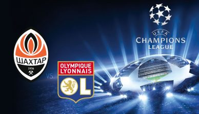 Champions League Shakhtar vs Lyon