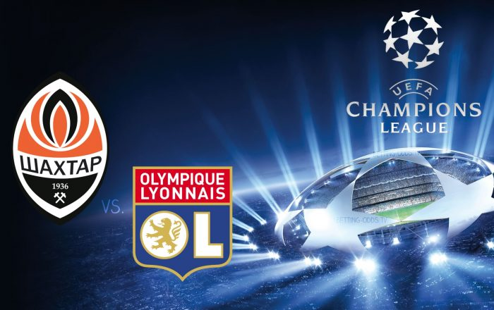 Champions League Shakhtar vs Lyon