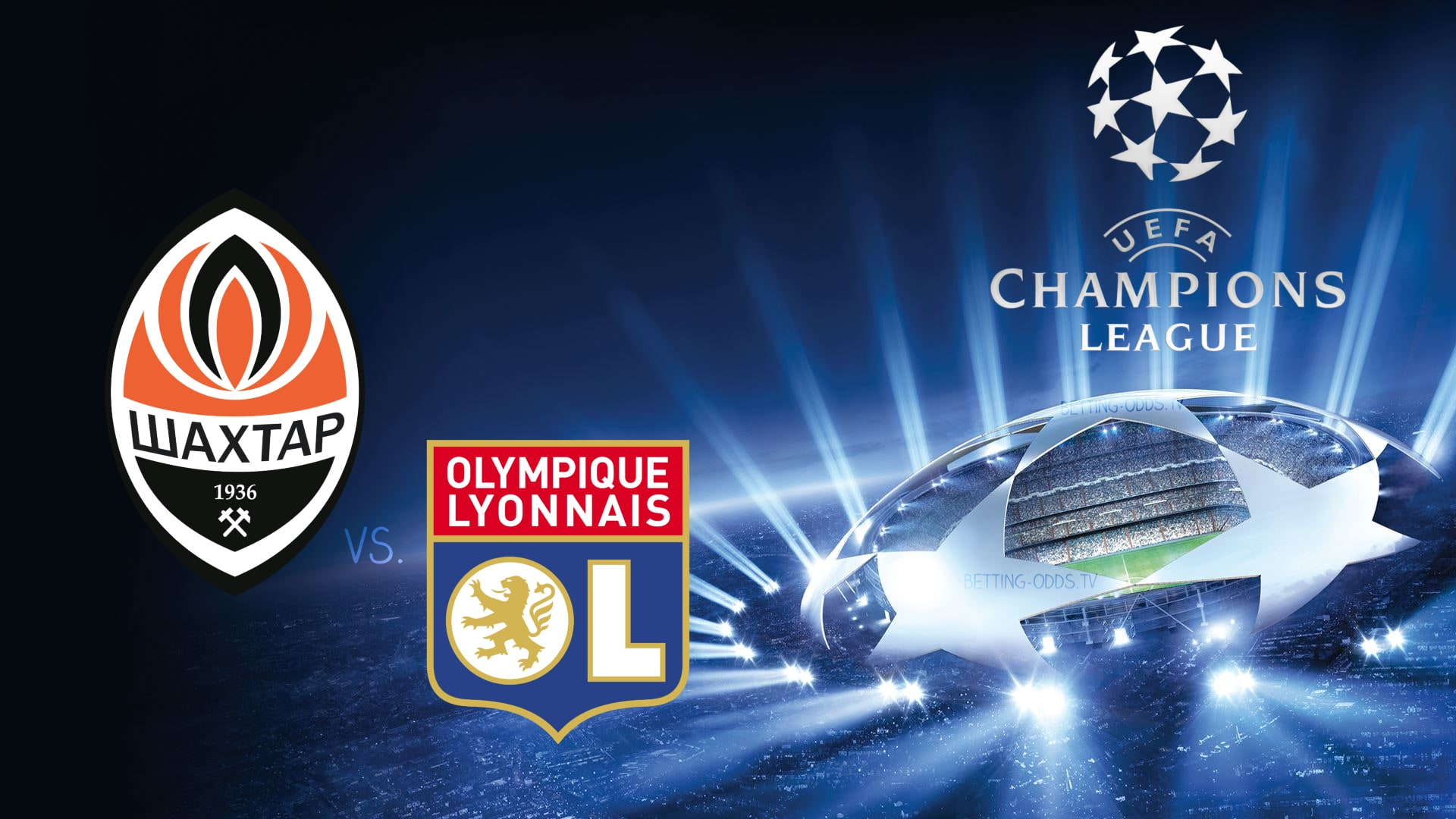 Champions League Shakhtar vs Lyon 12/12/2018