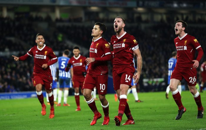 Brighton vs Liverpool Betting Prediction