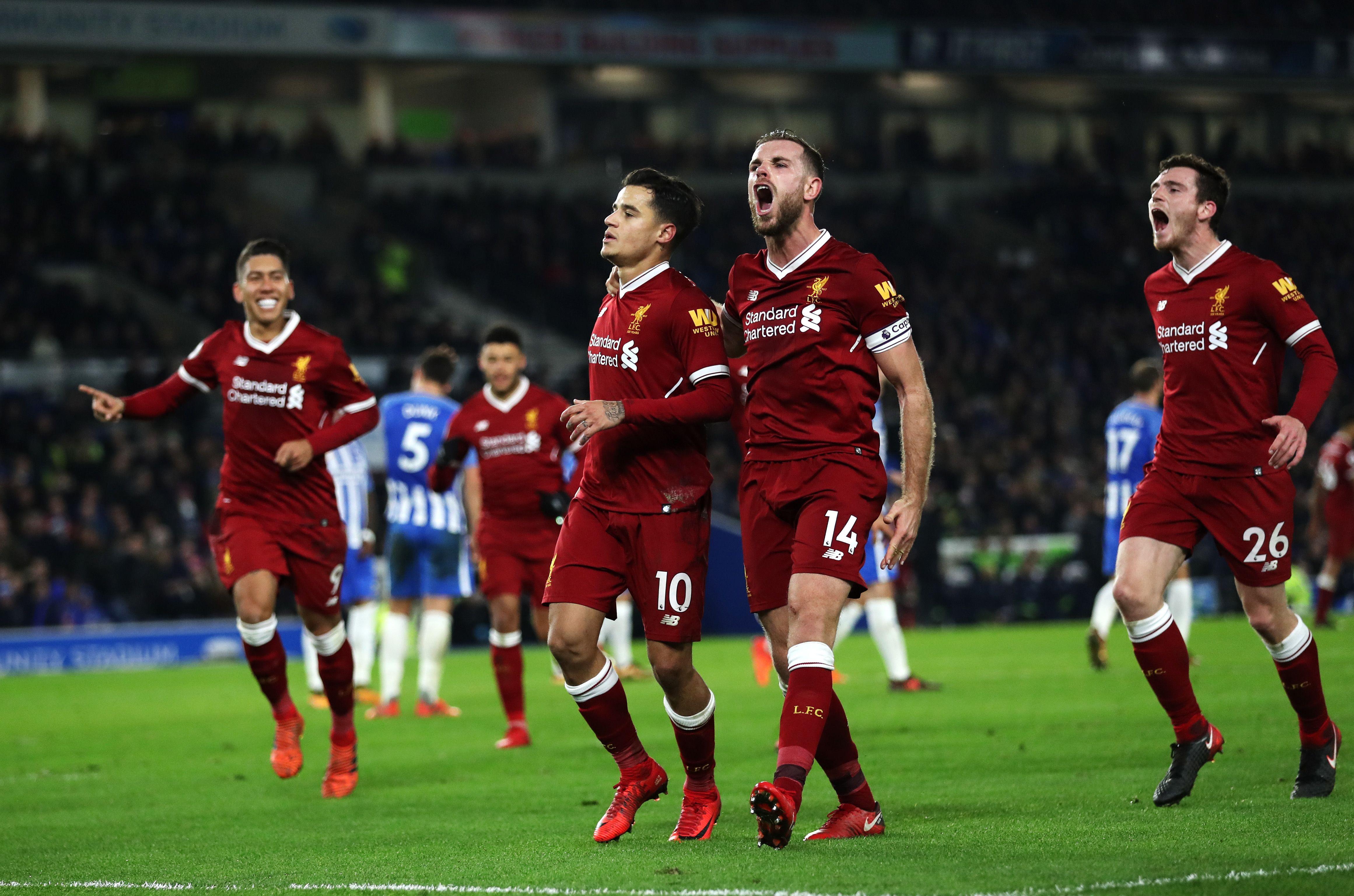 Brighton vs Liverpool  Free Predictions 12/01/2019