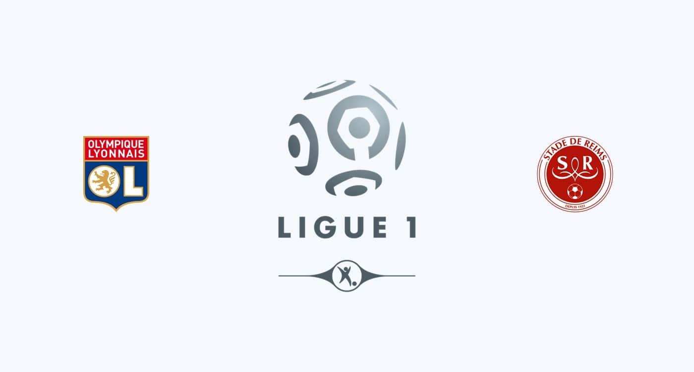 Lyon vs Stade de Reims Free Predictions 11 January 2019