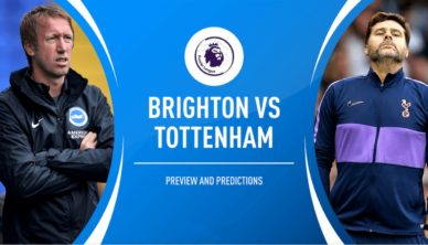 Brighton vs Tottenham Football Betting Tips and Odds