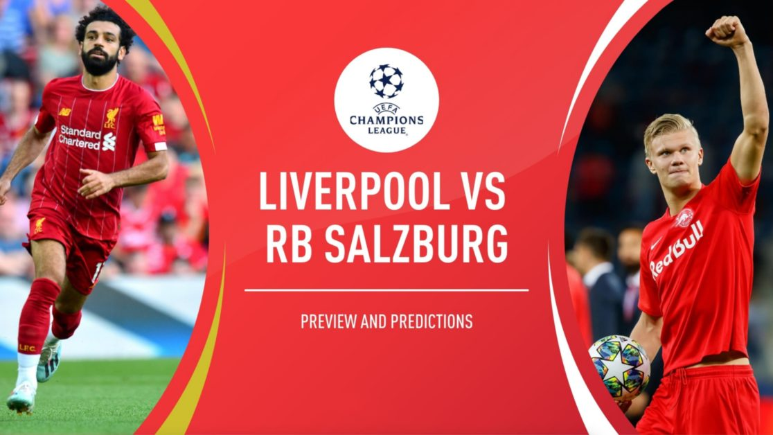 Liverpool vs Red Bull Salzburg Betting Predictions and Odds