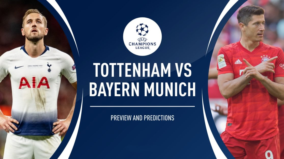 Tottenham vs Bayern Free Betting Predictions and Odds