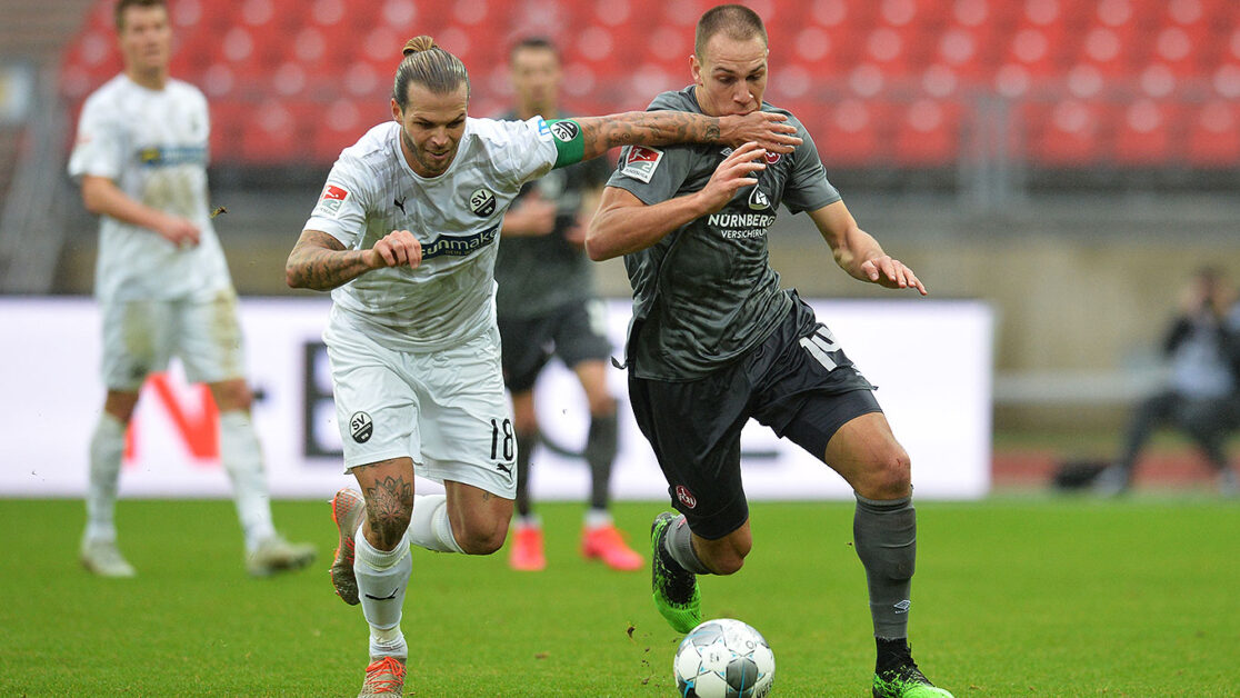 Sandhausen vs St. Pauli